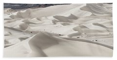 Beach Towel featuring the photograph Dumont Dunes 5 by Jim Thompson