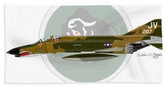 F-4e Phantom II Beach Sheet