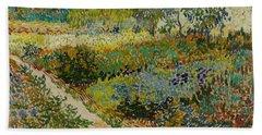 Garden At Arles Beach Sheet