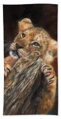 Lion Cub Beach Towel