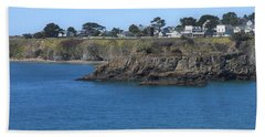 Mendocino Beach Towel