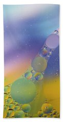 Oil In Water Beach Towel by Kevin Blackburn