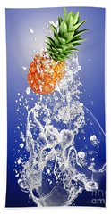 Pineapple Splash Beach Towel