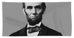 President Lincoln Beach Sheet by War Is Hell Store