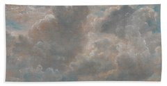 Title Cloud Study Beach Towel