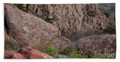 Beach Towel featuring the photograph Wichita Mountains by Iris Greenwell