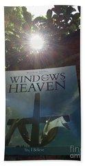 Windows From Heaven  Beach Sheet