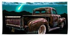 52 Rat Truck El Borracho And The Midnight Wish Beach Towel