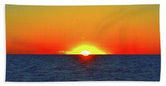 Beach Towel featuring the photograph 5.34.46 Am June 12-2016 Eye In The Sky  by Lyle Crump
