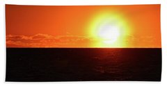 Beach Towel featuring the photograph 5.37.48 Am June 12-2016  by Lyle Crump