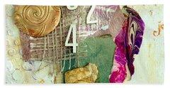 #5423, Joy And Happiness Beach Towel