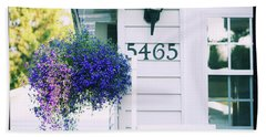 Beach Towel featuring the photograph 5465 -h by Aimelle