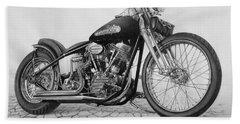 Motorcycle Beach Towels