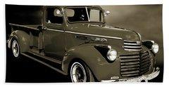 5514.04 1946 Gmc Pickup Truck Beach Sheet by M K  Miller