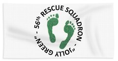 56th Rescue Squadron Beach Towel