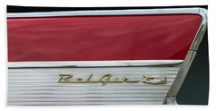 57 Chevy Bel Air Beach Towel