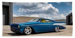 '57 Chevy Custom Beach Towel by Douglas Pittman
