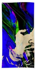 Eric Clapton Collection Beach Towel by Marvin Blaine