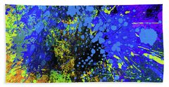 Abstract Composition Beach Sheet