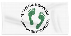 58th Rescue Squadron Beach Towel