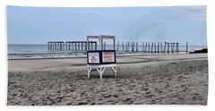 59th Street Pier In Ocean City Beach Towel