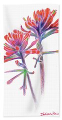 5x7paintbrush Beach Towel