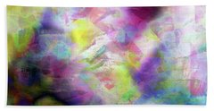 Abstract Photography Beach Towel