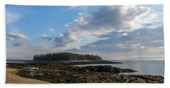 Beach Towel featuring the photograph Acadia National Park by Trace Kittrell