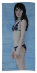 At The Lake Beach Towel