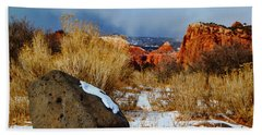 Captiol Reef National Park  Beach Towel