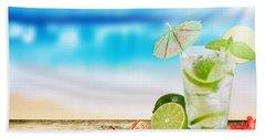 Cocktail Beach Towel