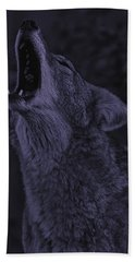 Beach Towel featuring the photograph Coyote by Brian Cross