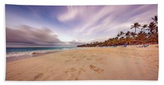Beach Sheet featuring the photograph Dominicana Beach by Peter Lakomy