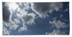 Beach Sheet featuring the photograph 6-gon Boken Sky by Megan Dirsa-DuBois