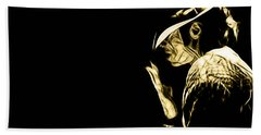 Michael Jackson Collection Beach Towel by Marvin Blaine