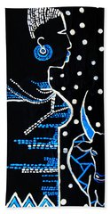 Murle Bride - South Sudan Beach Towel