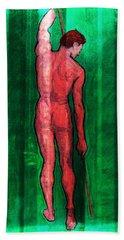 Nude Man Beach Sheet
