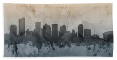 Phoenix Arizona Skyline Beach Towel