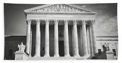 Supreme Court Building Beach Sheet