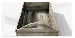 Wooden Carry Crate Beach Towel