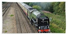 60163 Tornado At Tupton Beach Towel