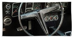 Beach Towel featuring the photograph 68 Chevy Ss 2-door Hardtop by Trey Foerster