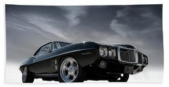69 Pontiac Firebird Beach Towel