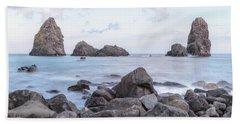 Aci Trezza - Sicily Beach Towel