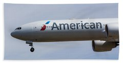 American Airlines Boeing 777 Beach Sheet