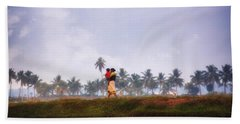 Backwaters Kerala - India Beach Towel
