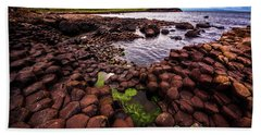 Giant's Causeway Beach Towel