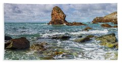 Gwenfaens Pillar Beach Sheet by Ian Mitchell