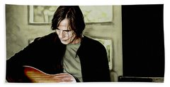Jackson Browne Collection Beach Sheet
