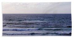 Jaffa Beach 2 Beach Sheet by Isam Awad